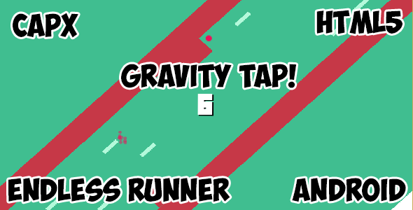 Gravity Tap! HTML5 Mobile Android Game