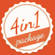 4in4 Business Cards Package - GraphicRiver Item for Sale