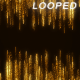 Gold Particles Streak Background - VideoHive Item for Sale