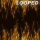Gold Particles Streak 2 Background - VideoHive Item for Sale