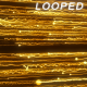 Gold Particles Rising 11 Background - VideoHive Item for Sale