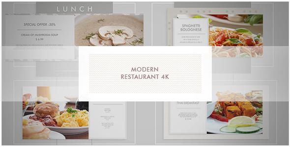 Modern Restaurant/ New Cafe/ Chef's Burger/ Vegetarian Menu/ Food Promotion/ Street Food Market/ TV