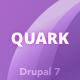 Quark: Responsive Multipurpose Drupal 7 Theme - ThemeForest Item for Sale