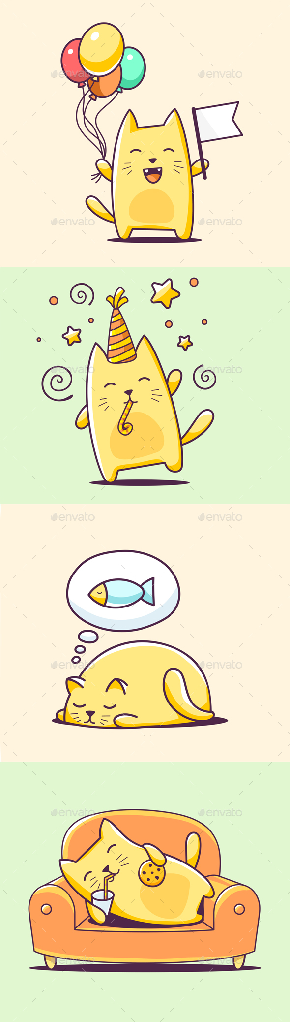 Cute and Fat Graphics Designs & Templates from GraphicRiver