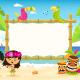Hawaiian Billboard with Kids - GraphicRiver Item for Sale