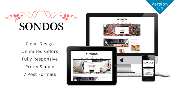 Sondos - Clean WordPress Blogging Theme