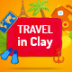 Travel in Clay - VideoHive Item for Sale