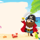 Pirate Template - GraphicRiver Item for Sale
