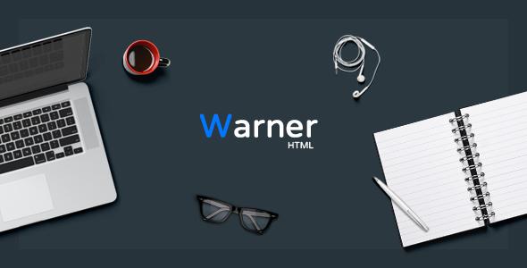 Warner - Multi-purpose Bootstrap Template