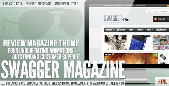 SwagMag - Temat magazynu / recenzji