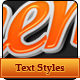 Marketinng Text Styles - GraphicRiver Item for Sale
