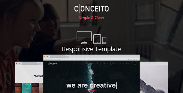 Conceito - Responsive One Page Muse Template