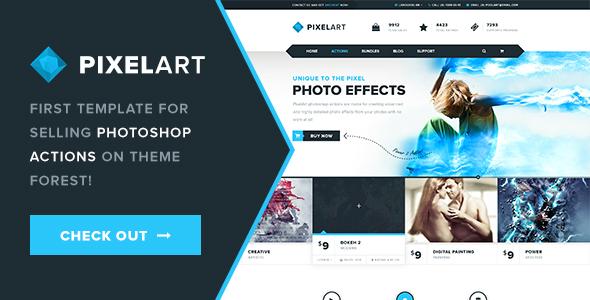PixelArt PSD Template