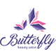Butterfly Salon Logo Template - GraphicRiver Item for Sale