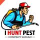 I Hunt Pest Logo - GraphicRiver Item for Sale