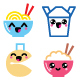 Kawaii Chinese Take Away Food Characters - GraphicRiver Item for Sale