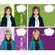 Caucasian Businesswoman Pop Art Comic - GraphicRiver Item for Sale