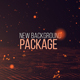 Background package - Particles bounce - VideoHive Item for Sale