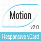 Motion | vCard Template - ThemeForest Item for Sale
