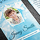 Peace Funeral Prayer Card Template - GraphicRiver Item for Sale
