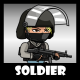 Soldier 48 SWAT Girl - GraphicRiver Item for Sale