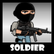Soldier 54 SWAT Guy - GraphicRiver Item for Sale