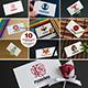 10 Business Card Mock-ups Vol.1 - GraphicRiver Item for Sale