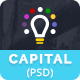 Capital Creative Agency PSD Template - ThemeForest Item for Sale