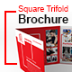 Square Trifold Brochure Template - GraphicRiver Item for Sale