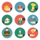 Hands With Object Icons - GraphicRiver Item for Sale