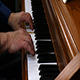 Older Male Hands Playing Slowly On Piano - VideoHive Item for Sale