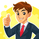 Businessman Mascot Character - GraphicRiver Item for Sale