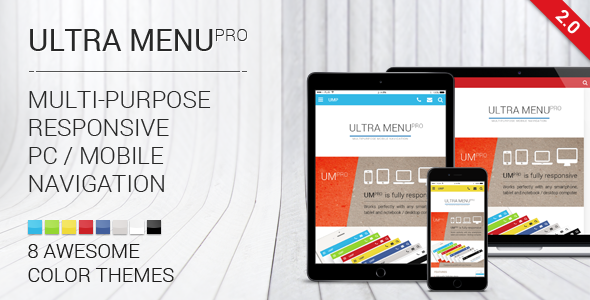 Multipurpose Responsive Navigation Menu Download