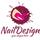 Nail Logo Template - GraphicRiver Item for Sale
