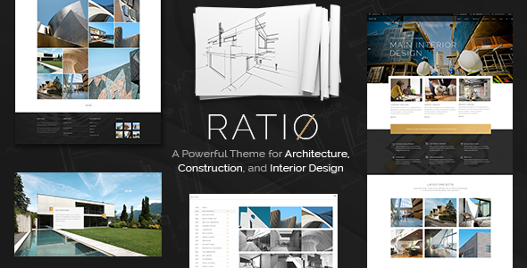 Interior Design Wordpress Portfolio Themes From Themeforest