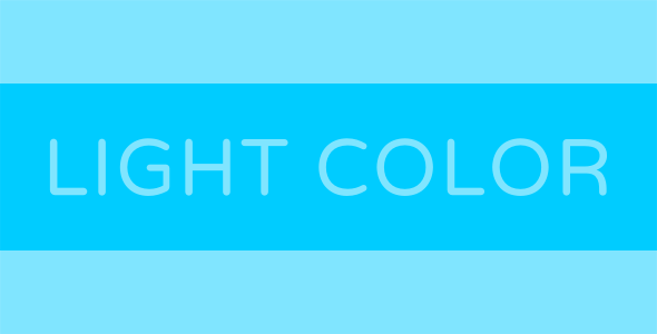 Light Color - Html5 Game
