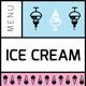 Ice Cream Menu V - GraphicRiver Item for Sale