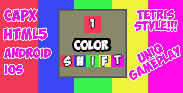 Color Shift - HTML5 Mobile Game + CAPX!