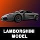 Lamborghini 3D Model - 3DOcean Item for Sale