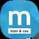 MaterialZine - Blog & Magazine Material Design HTML Template - ThemeForest Item for Sale