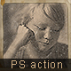 Ambrotype Vintage Photo Effect Photoshop Action - GraphicRiver Item for Sale