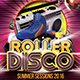 Roller Disco Flyer Template - GraphicRiver Item for Sale