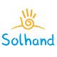 Solar hand logo - GraphicRiver Item for Sale