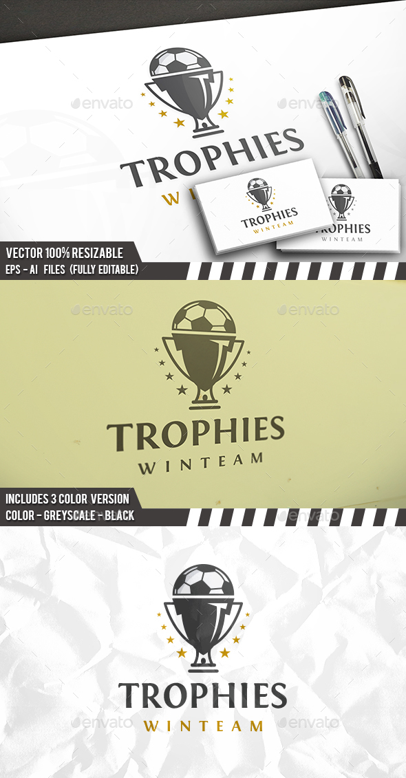 Football Cup Logo Template
