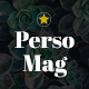 PersoMag - Clean & Personal Blogger Theme - ThemeForest Item for Sale