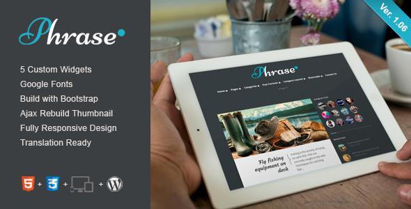 Phrase - Responsive WordPress Blog Theme 15