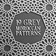 Grey Islamic Seamless Pattern Set 2 - GraphicRiver Item for Sale