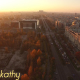 Aerial View Of Bucharest City Center At Dusk 1 - VideoHive Item for Sale