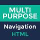 Multipurpose Navigation Menu