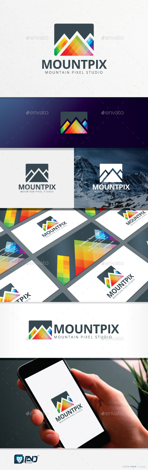 Mountain Pixel
